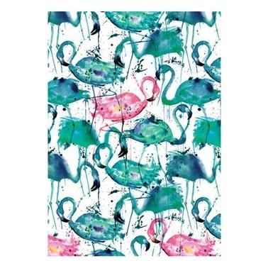 Deffter Paradise Flamingos Renkli